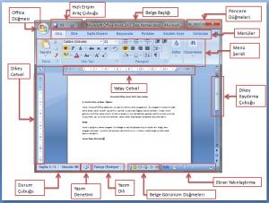Word Ekran Görüntüsü